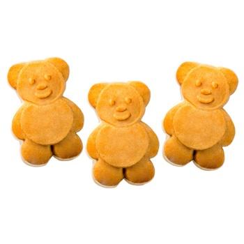 Печиво Friendy Міні-Мішутка здобне з молочною глазур'ю