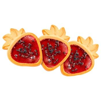 Печенье Friendy Желейная ягодка сдобное весовое