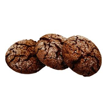 Печиво шоколадне пісочне вагове - купить, цены на Ашан - фото 1