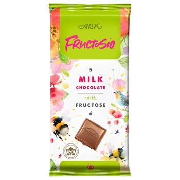 Шоколад ABK молочный с фруктозой 90г - купить, цены на Восторг - фото 1