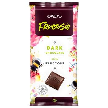Шоколад АВК черный с фруктозой 90г - купить, цены на Восторг - фото 1
