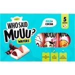 Вафли АВК Who Said Muuu молоко и какао 58г