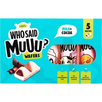 Вафли АВК Who Said Muuu молоко и какао 58г - купить, цены на ЕКО Маркет - фото 1
