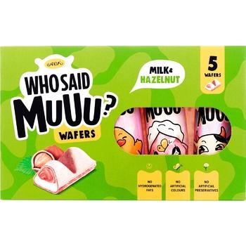Вафлі АВК Who Said Muuu молочно-горіхові 58г - купити, ціни на ЕКО Маркет - фото 1