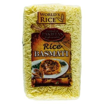 Рис World`s Rice Басмати 500г - купить, цены на Ашан - фото 2