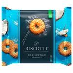 Печенье Biscotti Cookies time с кокосом 160г