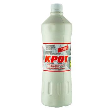 Очиститель для сливных труб Сана Крот 1050мл - купить, цены на Ашан - фото 1