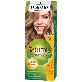 Крем-краска для волос Palette Naturals 8-0 (300) Светло-русый 110мл