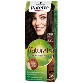 Крем-краска для волос Palette Naturals 3-0 (800) Темно-каштановый 110мл