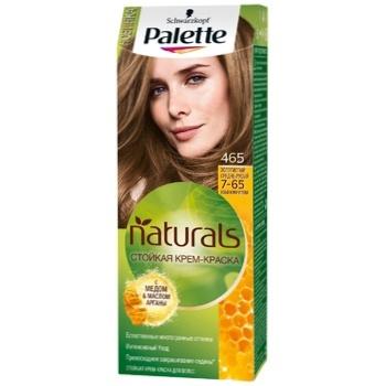 Крем-фарба для волосся Palette Naturals 7-65 (465) Золотистий середньо-русявий 110мл - купити, ціни на CітіМаркет - фото 1