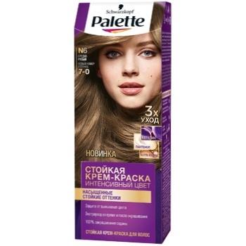 Крем-краска для волос Palette Интенсивный цвет 7-0 (N6) Средне-русый 110мл