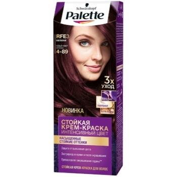 Крем-краска для волос Palette Интенсивный цвет 4-89 (RFE3) Баклажан 110мл