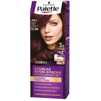 Краска для волос Palette интенсивный колір 4-88 (RF3) красный гранат 110мл