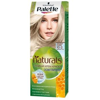 Краска для волос Palette Naturals 10-2 (219) Холодный блондин 110мл