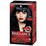 Крем-краска для волос Brillance 891 Иссиня-черный 142,5мл