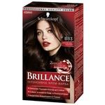 Интенсивная крем-краска для волос Brillance 883 Элегантный темно-каштановый 160мл