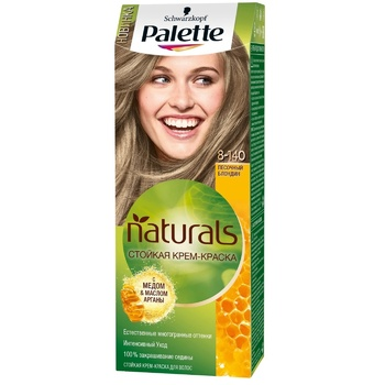 Крем-краска для волос Palette Naturals 8-140 Песочный блондин 110мл