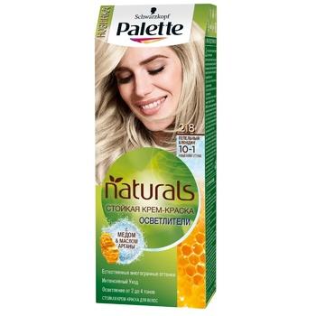 Фарба для волосся Palette Naturals 10-1 (218) Попелястий блондин 110мл