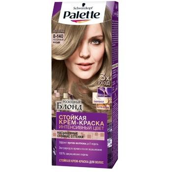 Краска для волос Palette интенсивный цвет 8-140 (CB7) песочный русый 110мл