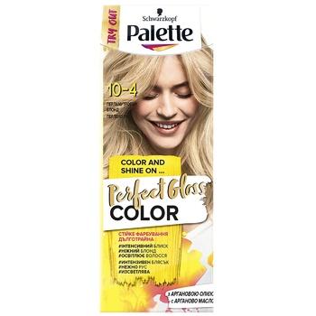 Крем-краска Palette Perfect Gloss 10-4 Перламутровый блонд