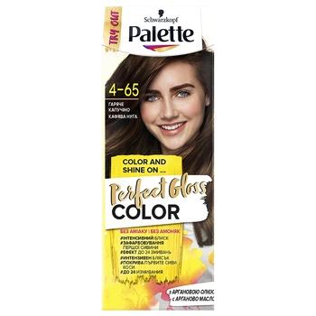 Крем-фарба для волосся Palette Perfect Gloss 4-65 Гаряче капучіно