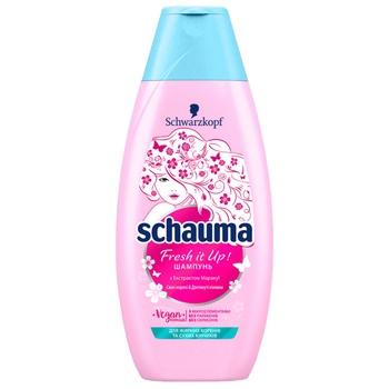 Шампунь Schauma Fresh it Up для волос которые быстро жирнеют 400мл