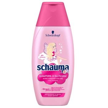 Шампунь и гель для душа Schauma Kids для волос и кожи детей 250мл - купить, цены на Novus - фото 1