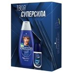 Schauma&Fa Sport Gift Set for Men Shampoo 400ml and Antiperspirant Roller 50ml