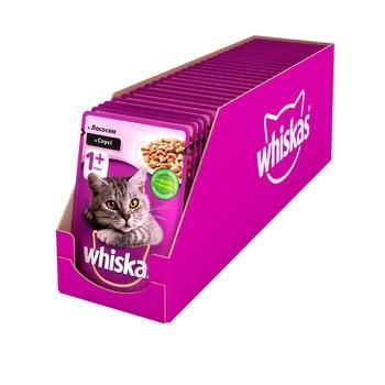 Корм для котов Whiskas с лососем в соусе 100г - купить, цены на ЕКО Маркет - фото 5