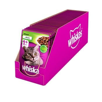 Whiskas Feed or Adult Cats with Lamb Meat in Jelly 100g - buy, prices for CityMarket - photo 2