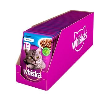 Whiskas With Tuna Fish In Jelly For Cats Food - buy, prices for CityMarket - photo 3