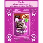 Whiskas With TurkeyIn Sause For Cats Food - buy, prices for CityMarket - photo 7