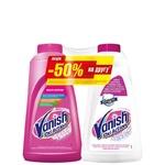 Рідкий засіб Vanish для виведення плям 1л + для білих тканин 1л