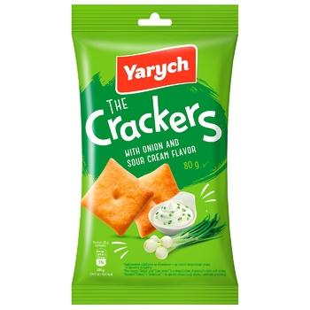 Крекер Yarych со вкусом лука и сметаны 80г
