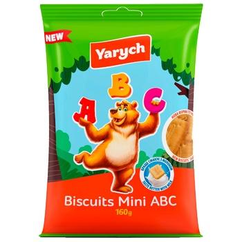 Печенье Yarych Mini ABC 160г - купить, цены на Ашан - фото 1