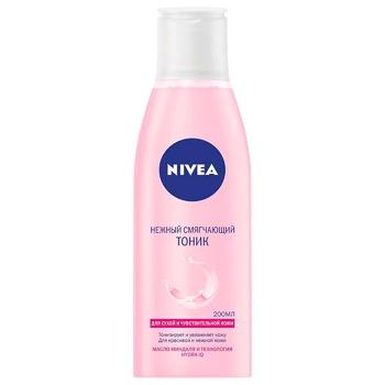 Тоник Nivea Смягчающий для лица для сухой и чувствительной кожи 200мл