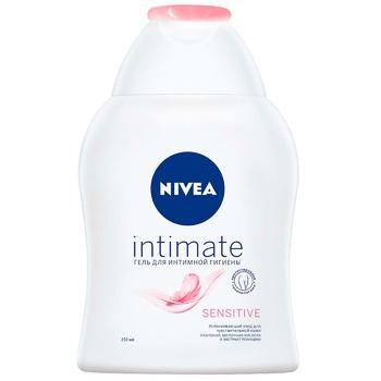Гель для интимной гигиены Nivea Sensitive с молочной кислотой 250мл