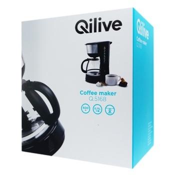 Кофеварка Qilive Q.5168 - купить, цены на Ашан - фото 1