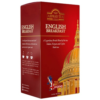 Ahmad Tea English Breakfast Black Tea in envelopes 25х2g