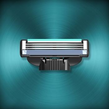 Gillette Mach 3 Replaceable Shaving Cartridges 4pcs - buy, prices for Furshet - image 5