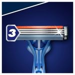 Бритва Gillette Blue3 Smooth одноразовые 16шт - купить, цены на Ашан - фото 3