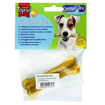 Topsi Bone for Chewing for Dogs 10cm - buy, prices for Auchan - photo 1