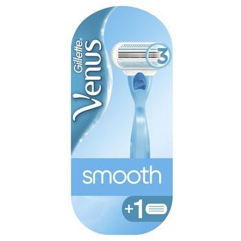 Бритва Gillette Venus c 2 сменными картриджами