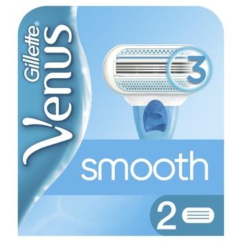 Картриджи для бритья Gillette Venus сменные 2шт - купить, цены на Novus - фото 1