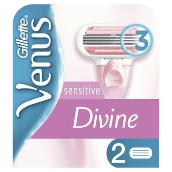 Venus Divine Replaceable Shaving Cartridges 2pcs