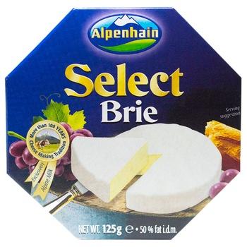 Сир Альпенхайн брі м'який з пліснявою 50% 125г