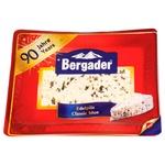 Сир Бергадер Еделпілц з блакитною цвіллю 50% 100г - купити, ціни на CітіМаркет - фото 2