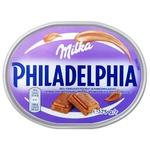 Крем-сыр Philadelphia с шоколадом Милка 175г
