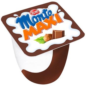 Zott Monte Maxi Milk Dessert with Chocolate and Hazelnuts 13,3% 100g - buy, prices for CityMarket - photo 1