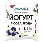 Molokiya Wild Berries Yogurt 1.4% 400g
